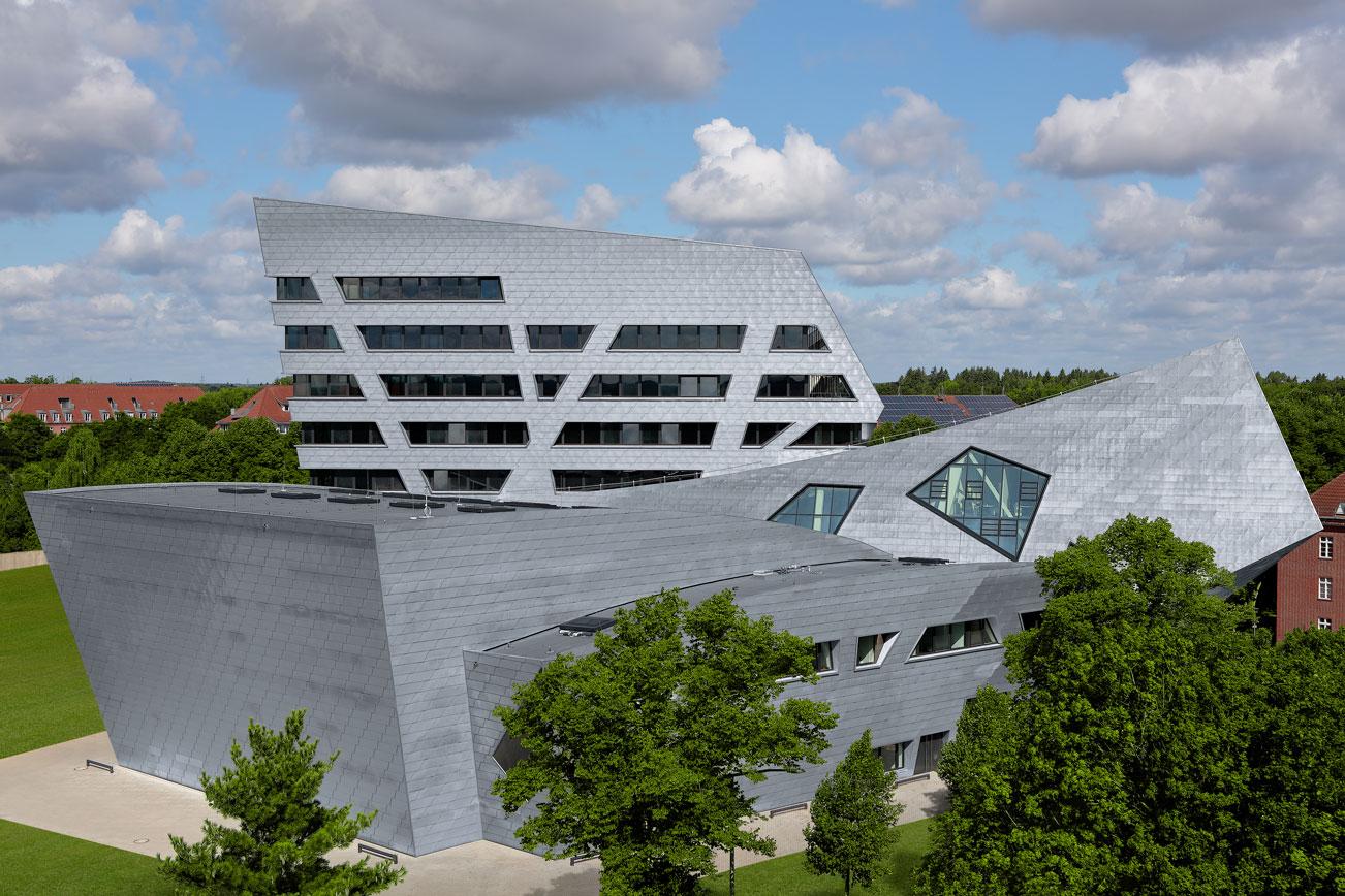 Leuphana University Titanzink rheinzink svensk byggplåt