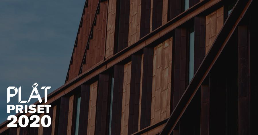 plåtpriset 2020 plåt20 arkitekturpris