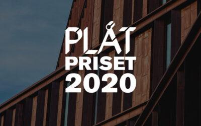 NOMINERA TILL PLÅTPRISET 2020