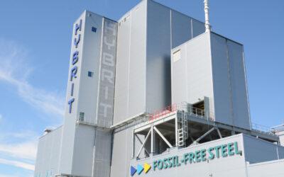 Världsunikt kliv mot fossilfritt stål när HYBRIT invigdes