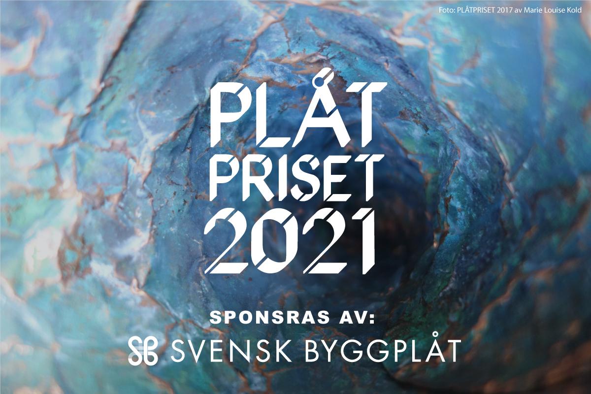 Plåtpriset 2021 sponsras av Svensk Byggplåt