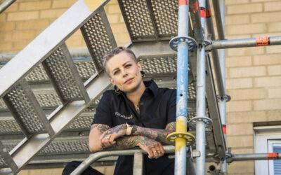 Årets byggkvinna 2021 om branschens utmaningar
