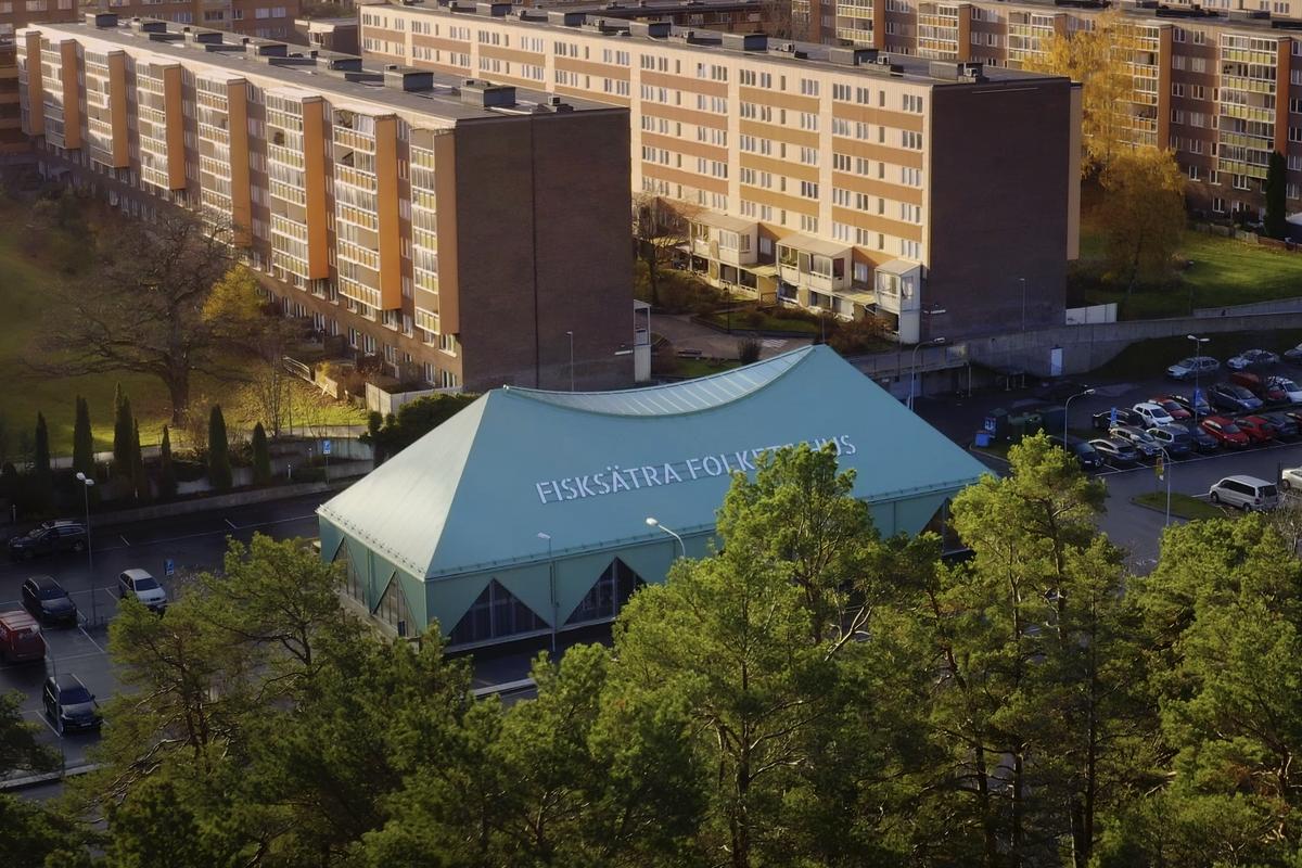 World Architecture Festival - Fisksätra Folkets Hus